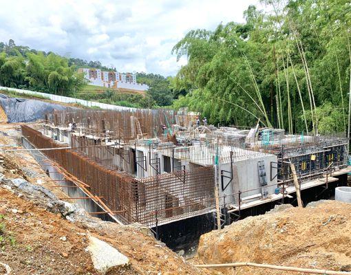 Terra grata etapa 2 en construcción